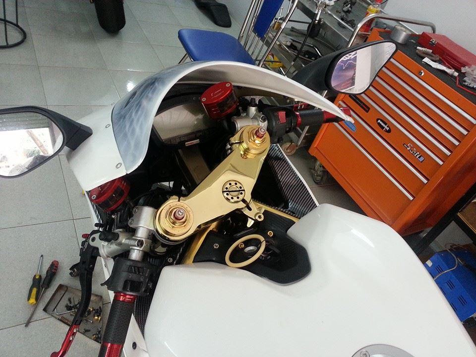 Ducati mạ vàng 24k độc nhất thế giới của đại gia Vũng Tàu 13