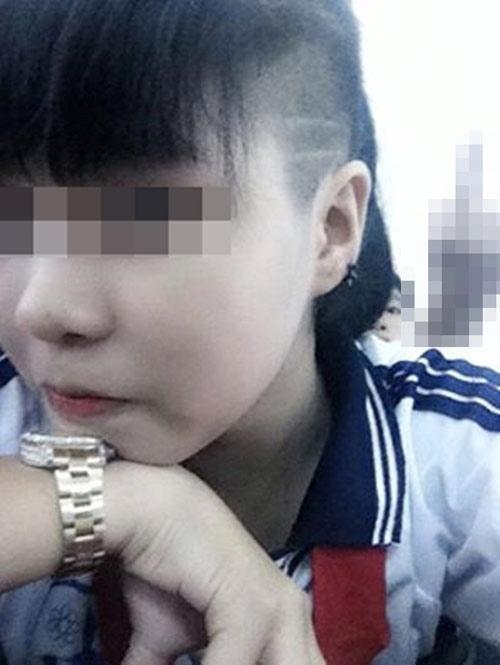 Nữ sinh với kiểu tóc lạ xôn xao cộng đồng mạng 7