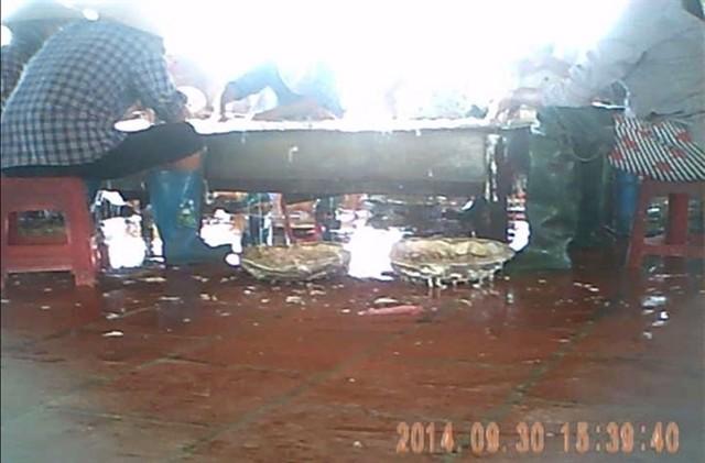 Kinh hoàng lò luyện nội tạng lợn ở Bắc Ninh 8