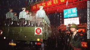 Quân đội Trung Quốc đang làm gì ở Hong Kong? 6