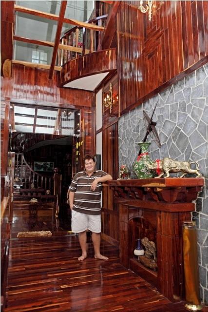 Choáng ngợp ngôi biệt thự toàn gỗ quý rộng 1.000 m2 7