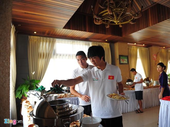 U19 Việt Nam ăn nghỉ tại resort sang trọng 3