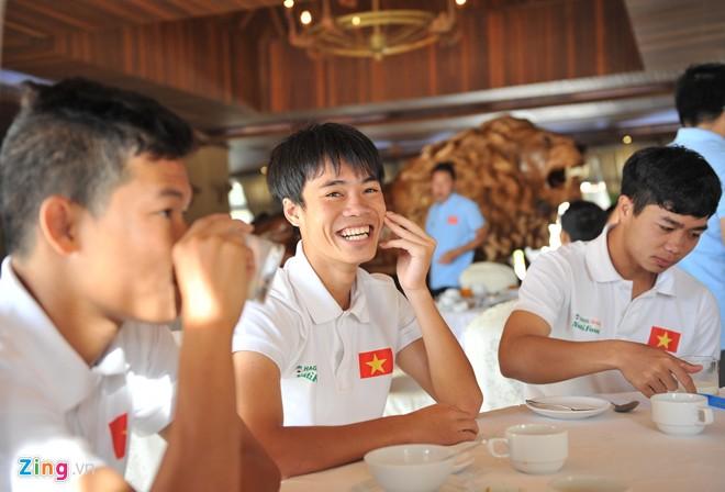 U19 Việt Nam ăn nghỉ tại resort sang trọng 12