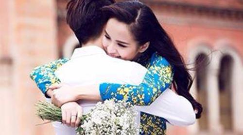 Cùng ngắm bộ ảnh cưới lãng mạn và hạnh phúc của Hoa hậu Diễm Hương  5