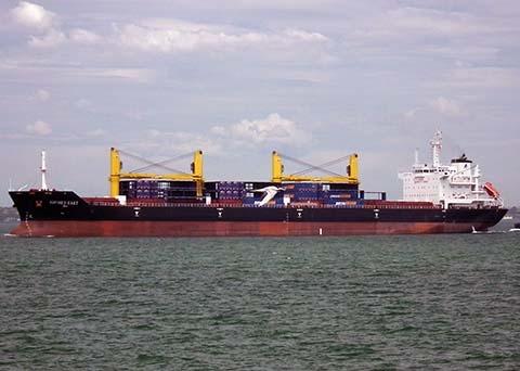 Tàu chở 18 thuyền viên VN mất tích bí ẩn: Thông báo tới Trung tâm chống cướp biển 4