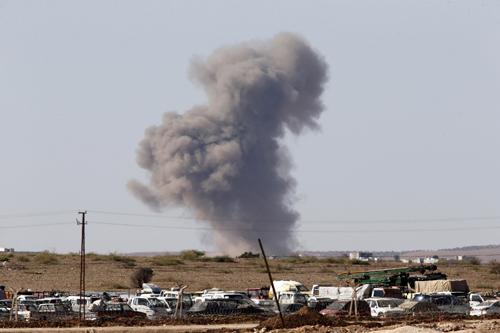 Liên quân dội 'mưa bom' vào IS, cứu Kobani trên đà thất thủ 8