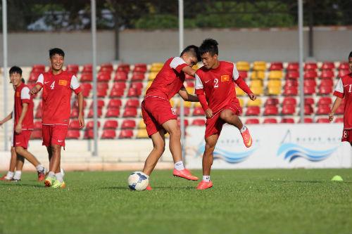 Đội hình U19 Việt Nam sẽ thi đấu với U19 Hàn Quốc vào ngày 9/10 1
