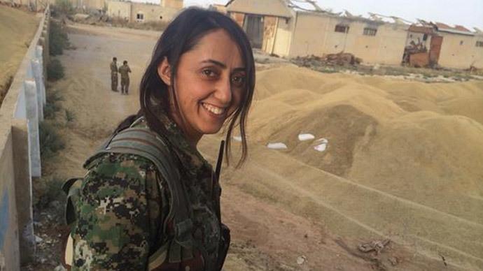 Nữ chiến binh Kurd: Tình yêu đất nước lớn hơn mọi nỗi sợ hãi 5