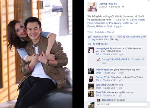Dương Triệu Vũ sắp cưới bạn gái cũ Trấn Thành 5