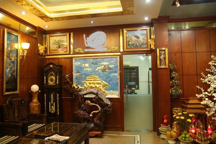 Nhà dát vàng trăm tỉ của nam nữ đại gia Việt 6