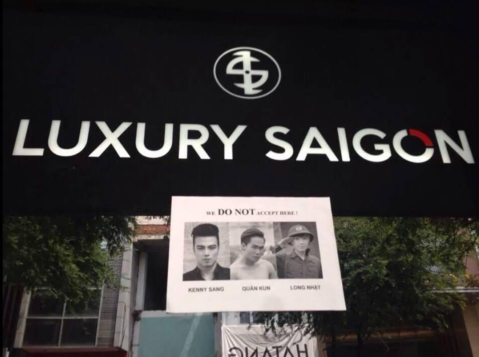 Cửa hàng treo biển 'cấm cửa' Kenny Sang, Quân Kun 5