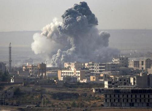 Bị oanh kích tơi tả, phiến quân IS phải rút gần hết khỏi Kobani 5