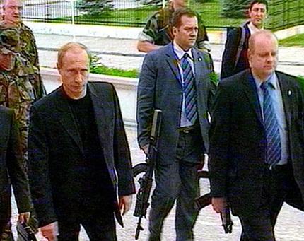 Hé lộ những bí mật về đội cận vệ chuyên tháp tùng Tổng thống Putin 5