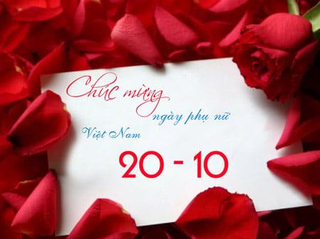 Hình ảnh Ngày 20/10: Hình ảnh, thiệp chúc mừng 20/10 - Ngày Phụ nữ Việt Nam số 1