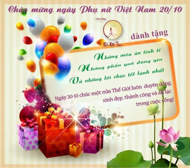 Hình ảnh Ngày 20/10: Hình ảnh, thiệp chúc mừng 20/10 - Ngày Phụ nữ Việt Nam số 7