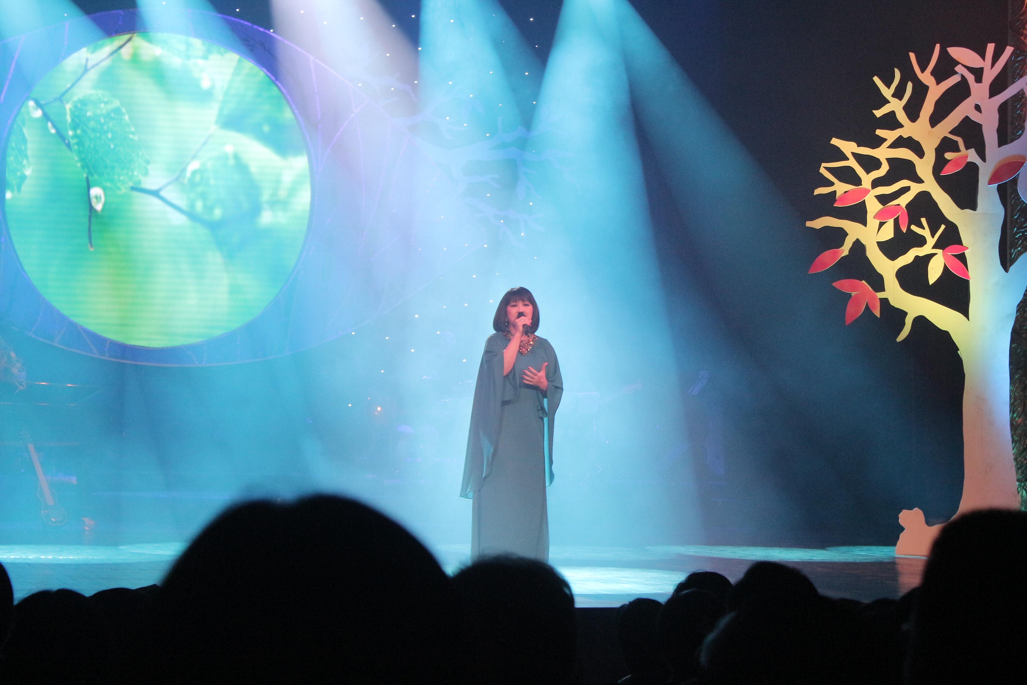 Mỹ Tâm gợi cảm với váy xẻ, Hồng Nhung trẻ như thiếu nữ trong đêm nhạc Trịnh 8