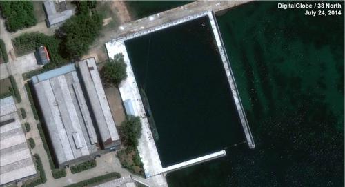 Chuyên gia Mỹ tiết lộ Triều Tiên đang sở hữu tàu ngầm kiểu mới 4