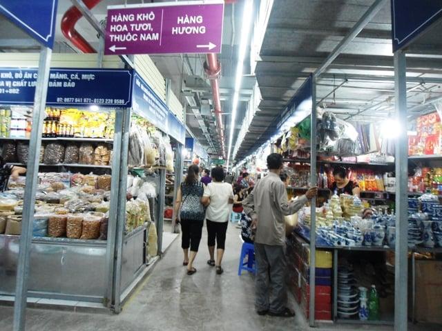 Hình ảnh Chợ Mơ mới những ngày đầu khai trương 5