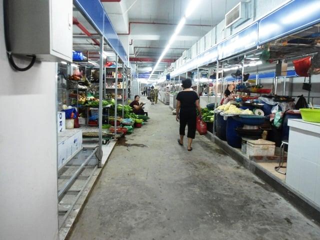 Hình ảnh Chợ Mơ mới những ngày đầu khai trương 14