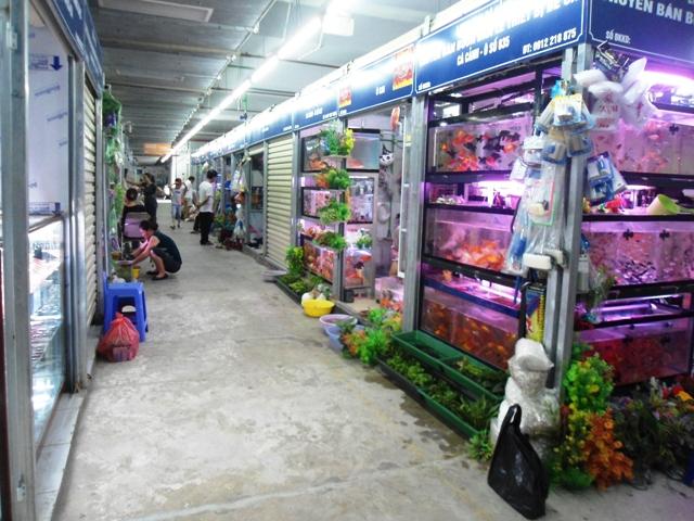 Hình ảnh Chợ Mơ mới những ngày đầu khai trương 7