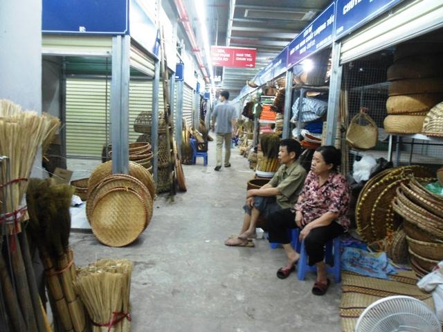 Chợ Mơ truyền thống những ngày đầu khai trương 13
