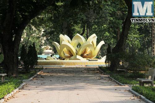 Cận cảnh hai đài phun nước hoành tráng nhất nhì Hà Nội 6