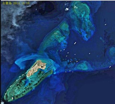 Trung Quốc đã biến Đá Chữ Thập thành đảo lớn nhất Trường Sa 4
