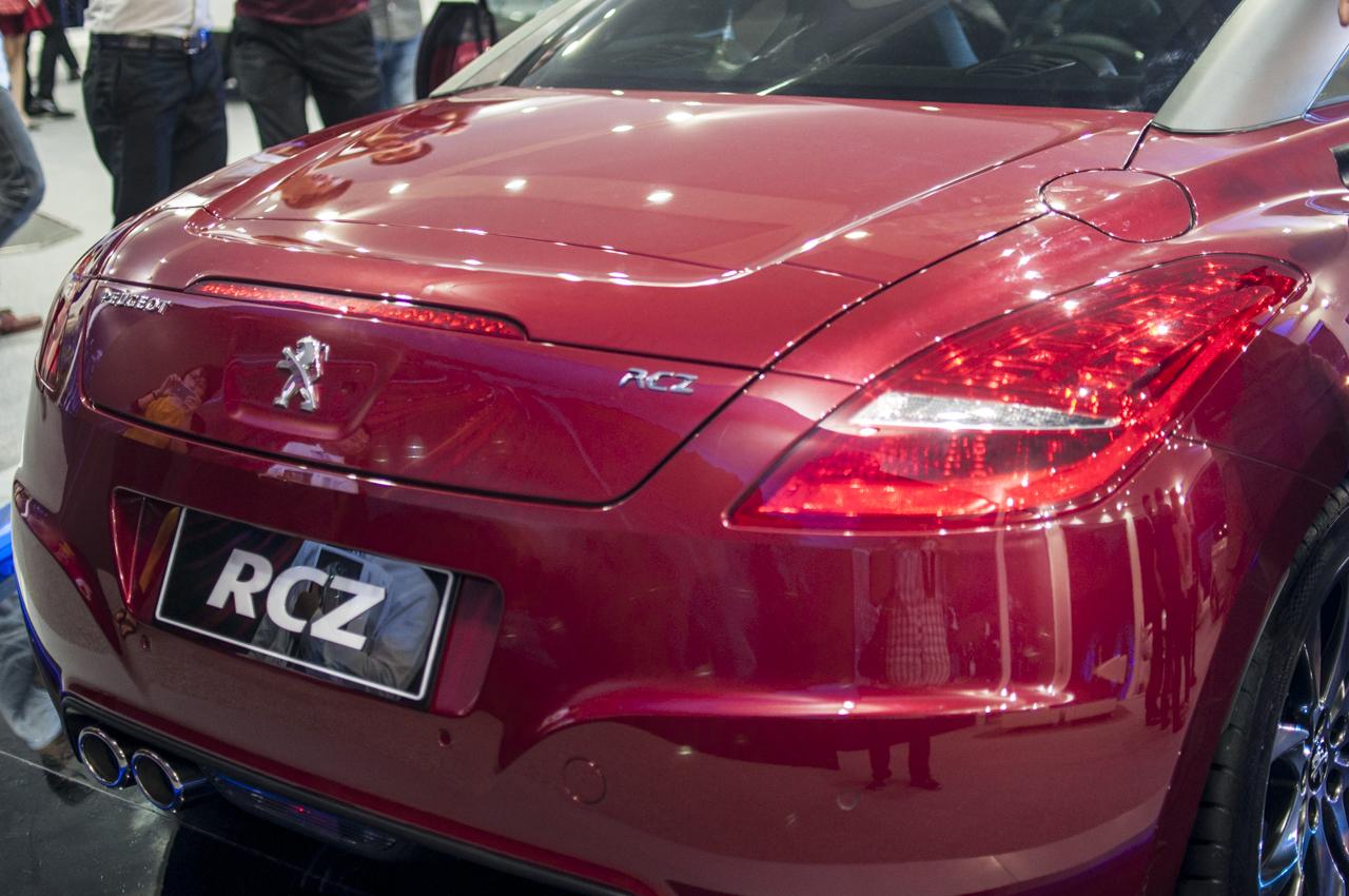 Peugeot RCZ được công bố giá bán 6