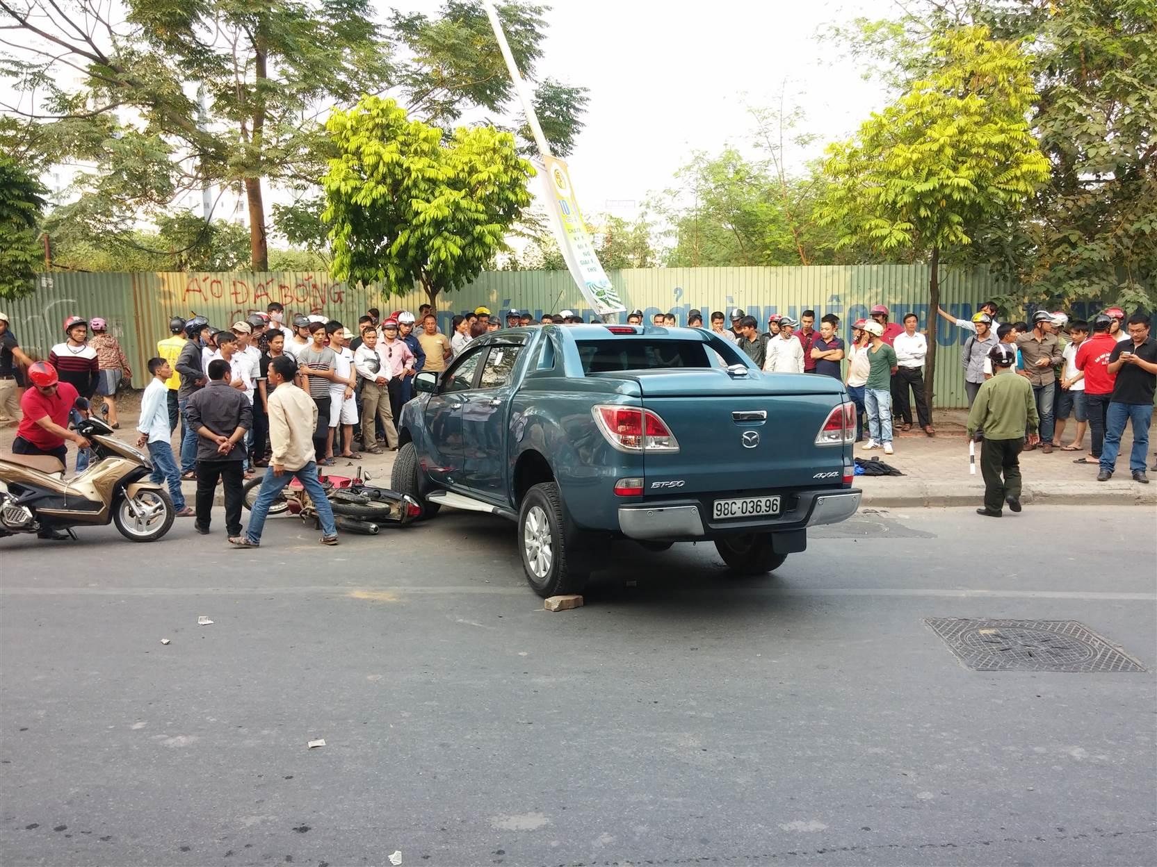Tài xế gây tai nạn liên hoàn trên đường Phạm Hùng bị khởi tố 6