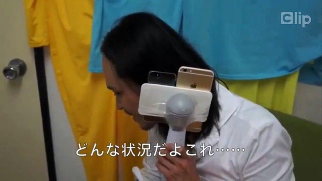 Kiểm tra khả năng quay phim  của iPhone 6 bằng... sex toy 6