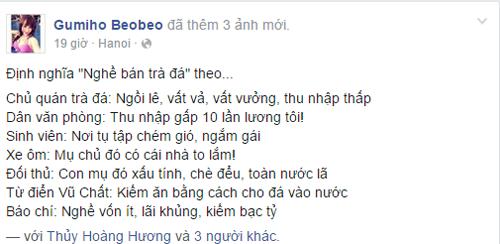 Hot girl bán trà đá tại Hà Nội gây sốt cộng đồng mạng 9