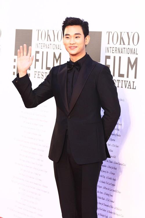 Kim Soo Hyun giành giải diễn viên Châu Á xuất sắc nhất tại LHP Tokyo 5