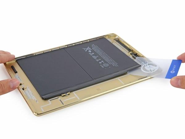 Phẫu thuật iPad Air 2: Cực kỳ khó sửa, pin nhỏ hơn 16