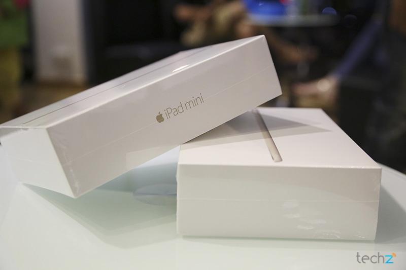 Mở hộp iPad Mini 3: Nhỏ gọn và sang trọng 5