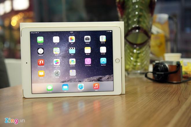 Ảnh thực tế iPad Air 2 vừa xuất hiện tại Việt Nam 8