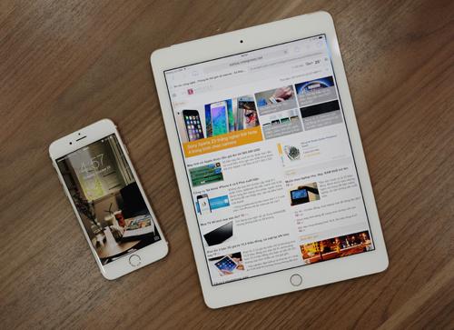 Trên tay iPad Air 2 tại Việt Nam 5