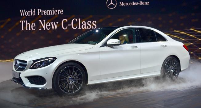 Mercedes-Benz C-Class 2015 sắp được giới thiệu tại Việt Nam 7
