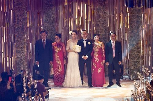 Ái nữ, thiếu gia con nhà giàu Việt xúng xính váy cưới sang trọng 10