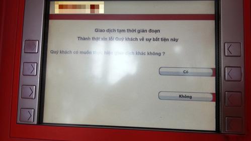 Máy ATM không đáp ứng nhu cầu rút tiền bị phạt đến 15 triệu đồng 5