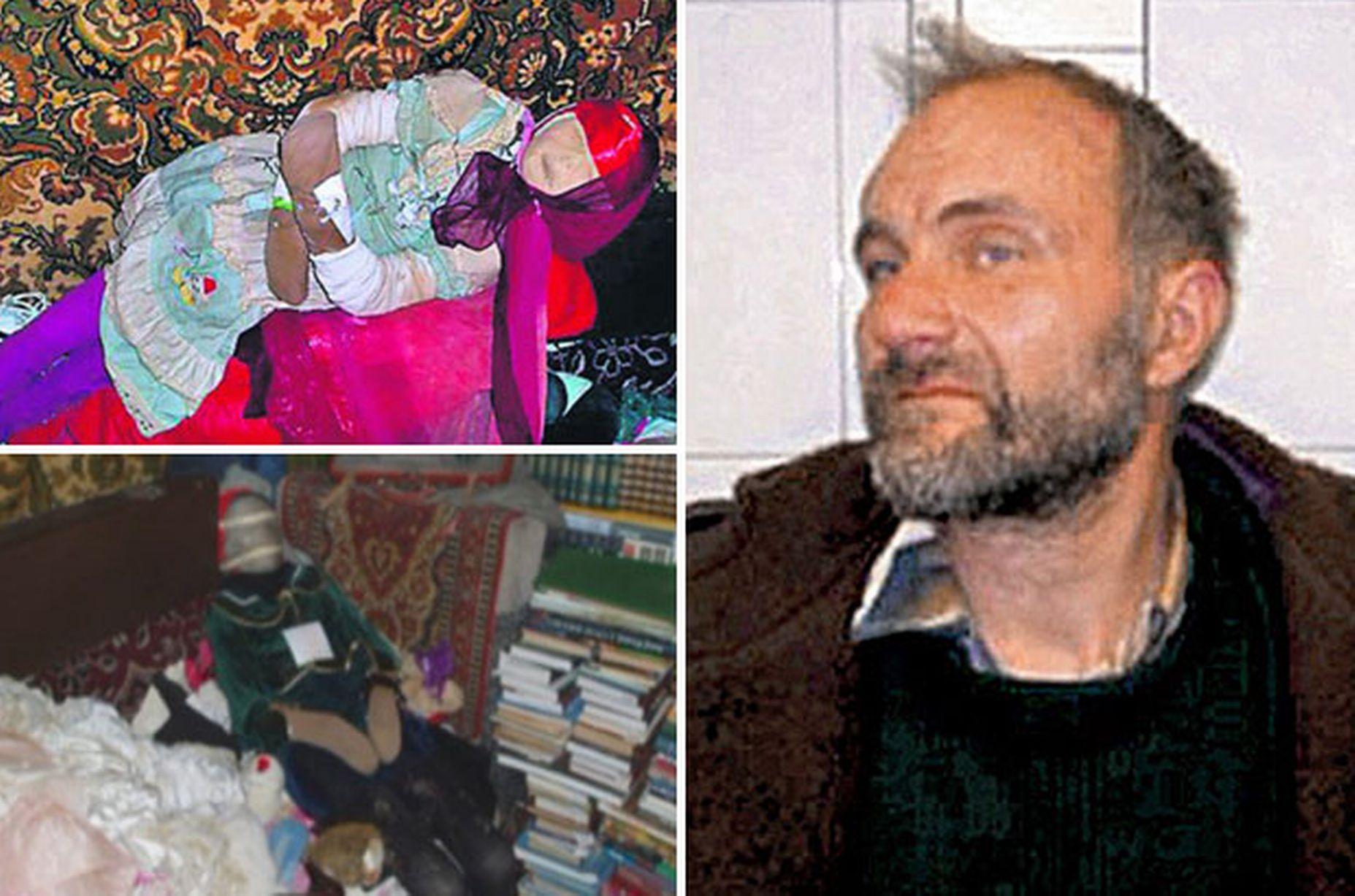 Kẻ tâm thần đào trộm 150 ngôi mộ để sưu tập thi thể các bé gái 5