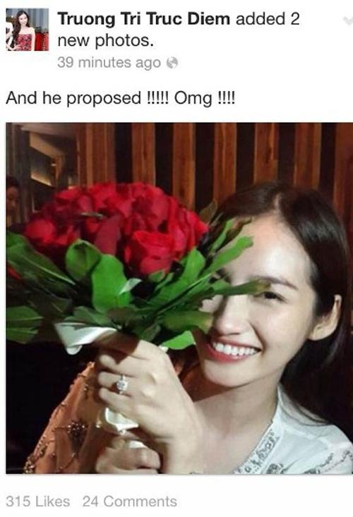 Sao Việt với những màn cầu hôn bất ngờ và hạnh phúc 6
