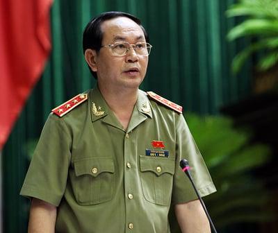 Bộ trưởng Công an Trần Đại Quang thăm Trung Quốc 1