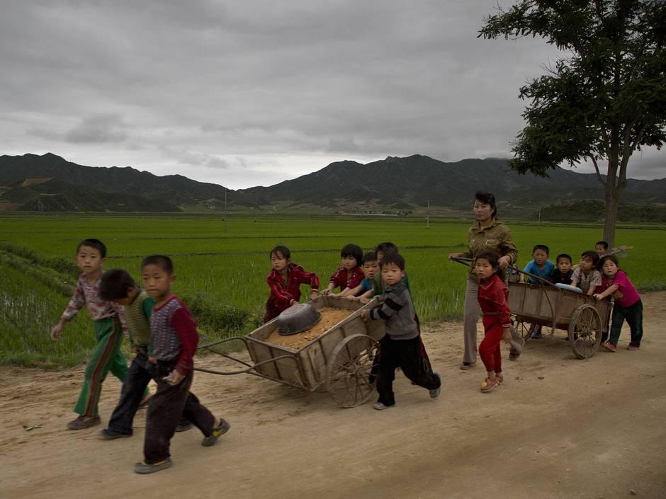 Những hình ảnh chưa từng biết về cuộc sống nông thôn Triều Tiên 9