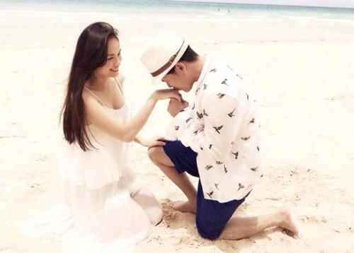 Sao Việt với những màn cầu hôn bất ngờ và hạnh phúc 5