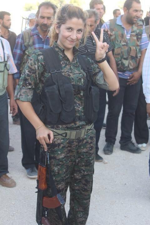 Nữ chiến binh xinh đẹp tiêu diệt 100 phiến quân IS đã bị hành quyết? 4