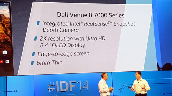 Tablet mỏng nhất thế giới Dell Venue 8 7000 bán từ tháng 11 5