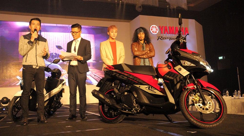 Yamaha Nouvo SX 2015 được giới thiệu chính thức 6