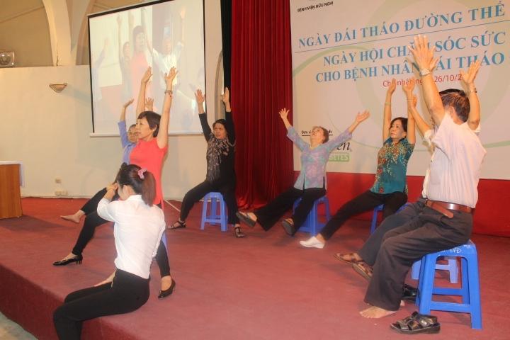 Ngày hội chăm sóc sức khỏe cho bệnh nhân đái tháo đường: Thành công ngoài mong đợi 10
