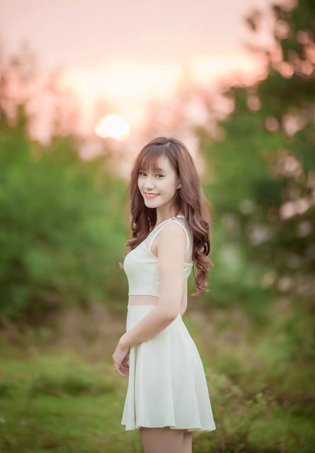Ngắm hot girl trường sân khấu điện ảnh xinh như thiên thần 9