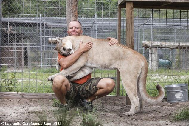 Người đàn ông sống chung với hổ dữ suốt 9 năm 10